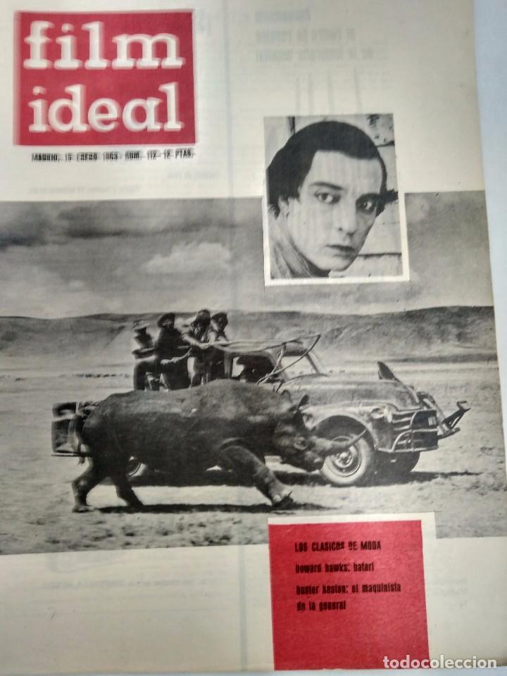 Cine: 24 REVISTAS FILM IDEAL, AÑO 1963 COMPLETO, desde nro. 111 al 133 - Foto 2 - 97248203