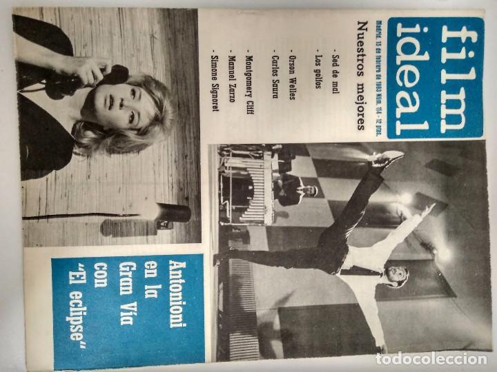 Cine: 24 REVISTAS FILM IDEAL, AÑO 1963 COMPLETO, desde nro. 111 al 133 - Foto 4 - 97248203