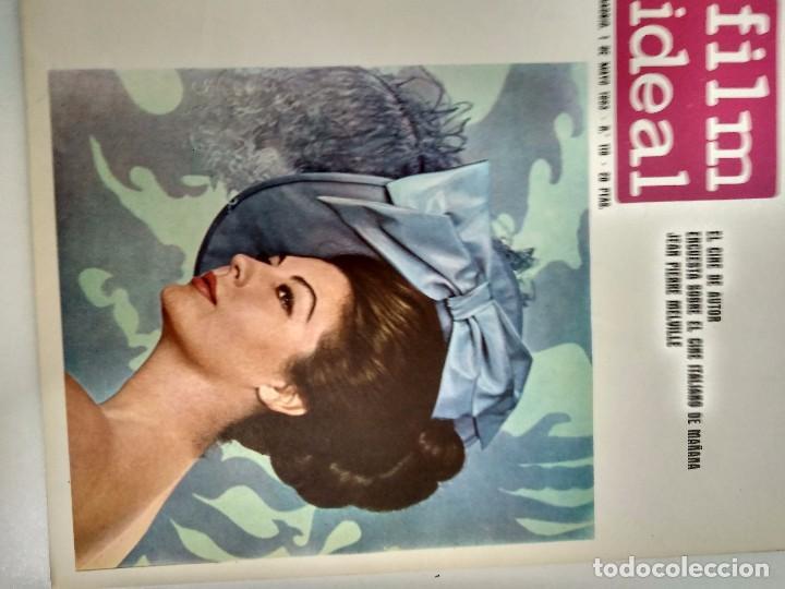 Cine: 24 REVISTAS FILM IDEAL, AÑO 1963 COMPLETO, desde nro. 111 al 133 - Foto 9 - 97248203
