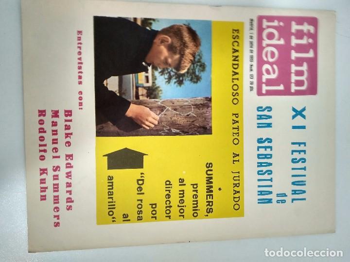 Cine: 24 REVISTAS FILM IDEAL, AÑO 1963 COMPLETO, desde nro. 111 al 133 - Foto 13 - 97248203