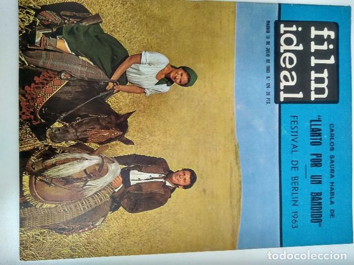 Cine: 24 REVISTAS FILM IDEAL, AÑO 1963 COMPLETO, desde nro. 111 al 133 - Foto 14 - 97248203