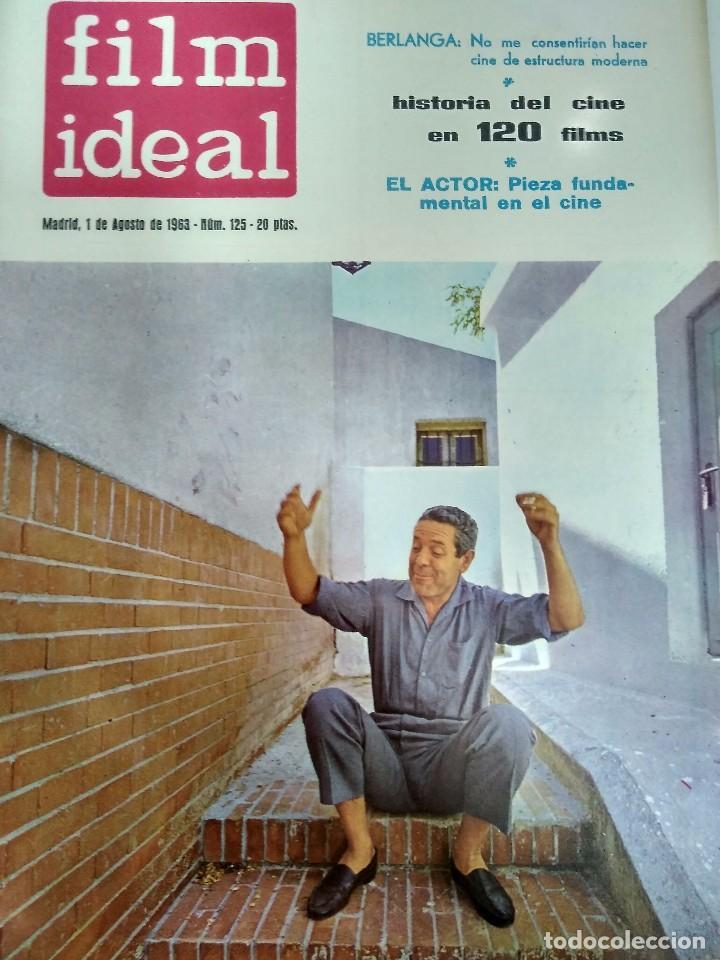 Cine: 24 REVISTAS FILM IDEAL, AÑO 1963 COMPLETO, desde nro. 111 al 133 - Foto 15 - 97248203