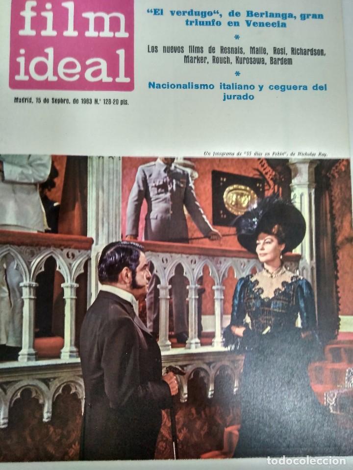 Cine: 24 REVISTAS FILM IDEAL, AÑO 1963 COMPLETO, desde nro. 111 al 133 - Foto 18 - 97248203