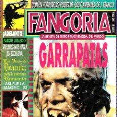 Cine: REVISTA FANGORIA Nº 21 - PRIMERA ÉPOCA - EDICIONES ZINCO- JULIO 1993. Lote 124235676