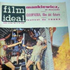 Cine: 24 REVISTAS FILM IDEAL, AÑO 1964 COMPLETO, DESDE NRO. 135 AL 158. Lote 186134312
