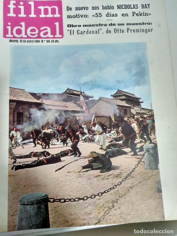 Cine: 24 REVISTAS FILM IDEAL, AÑO 1964 COMPLETO, desde nro. 135 al 158 - Foto 2 - 186134312
