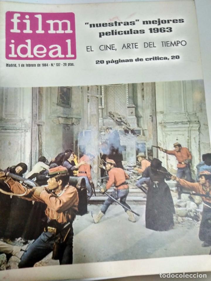 Cine: 24 REVISTAS FILM IDEAL, AÑO 1964 COMPLETO, desde nro. 135 al 158 - Foto 3 - 186134312