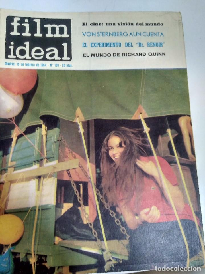 Cine: 24 REVISTAS FILM IDEAL, AÑO 1964 COMPLETO, desde nro. 135 al 158 - Foto 4 - 186134312