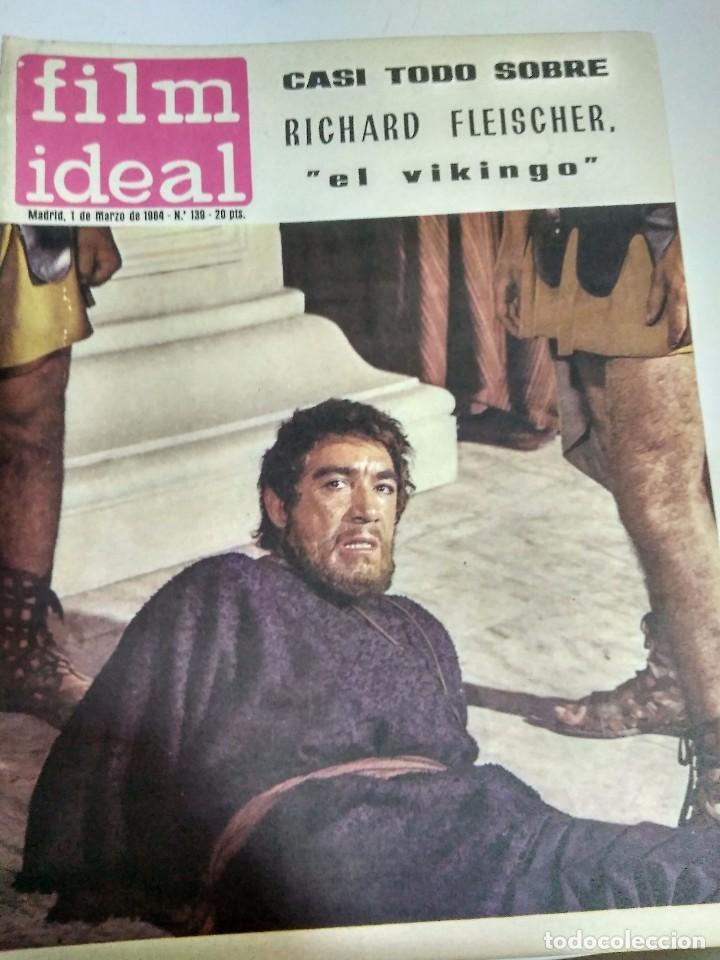 Cine: 24 REVISTAS FILM IDEAL, AÑO 1964 COMPLETO, desde nro. 135 al 158 - Foto 5 - 186134312