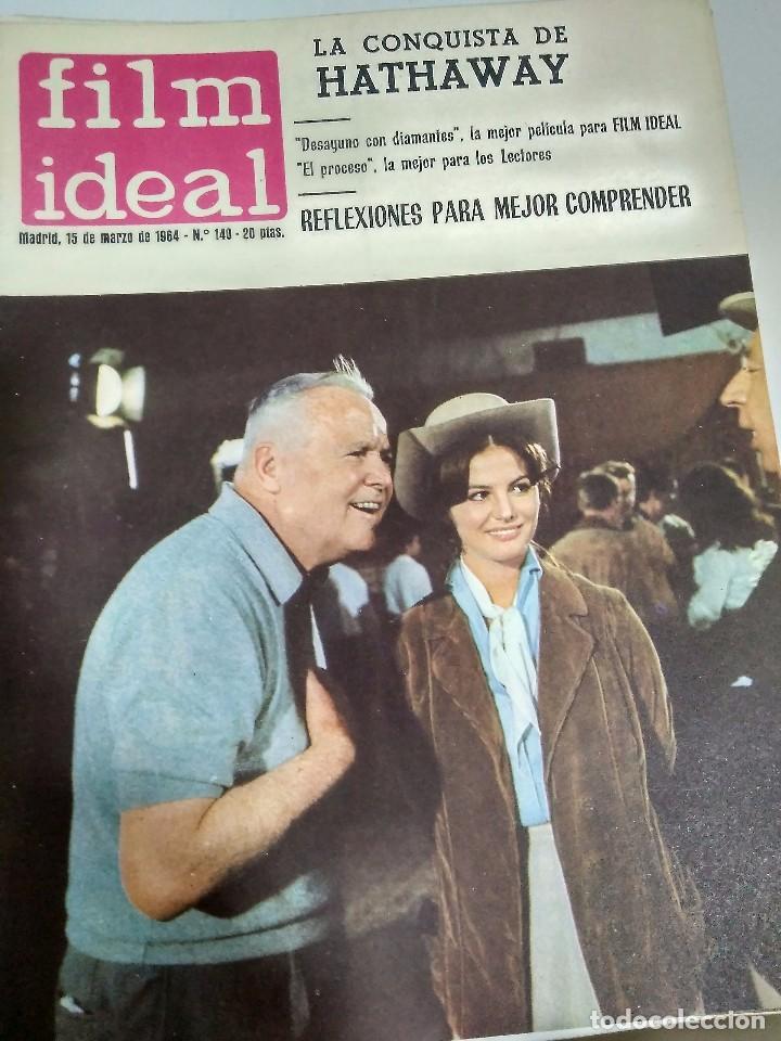 Cine: 24 REVISTAS FILM IDEAL, AÑO 1964 COMPLETO, desde nro. 135 al 158 - Foto 6 - 186134312