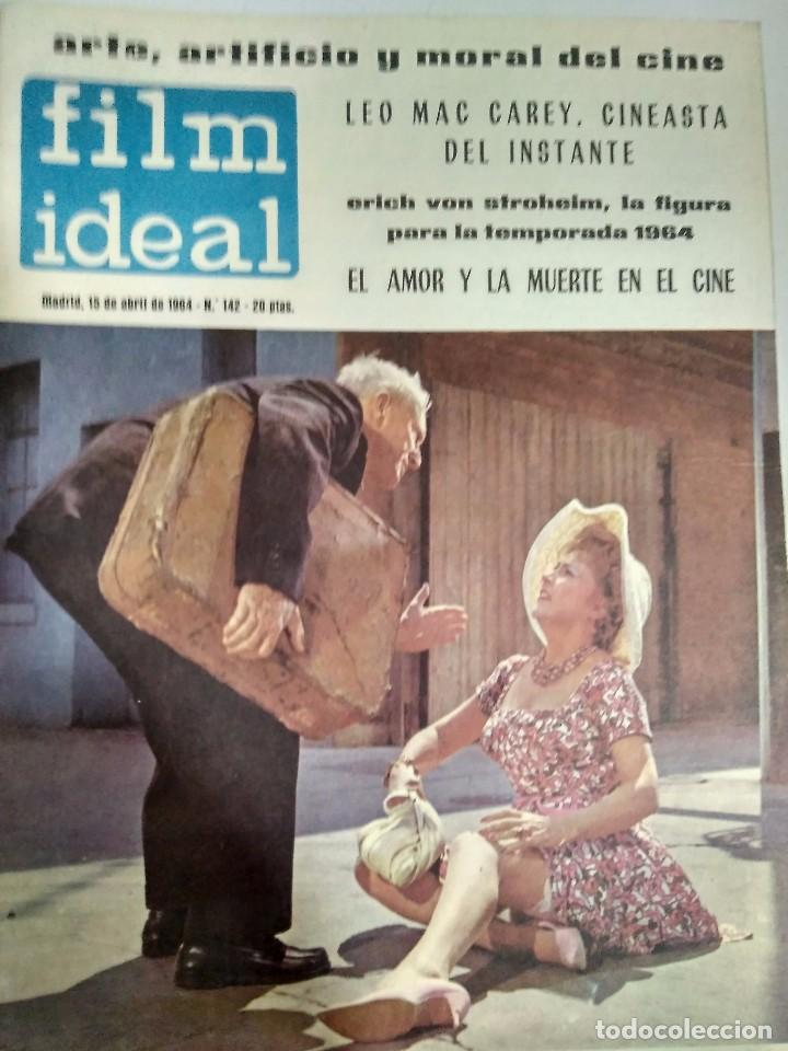 Cine: 24 REVISTAS FILM IDEAL, AÑO 1964 COMPLETO, desde nro. 135 al 158 - Foto 8 - 186134312