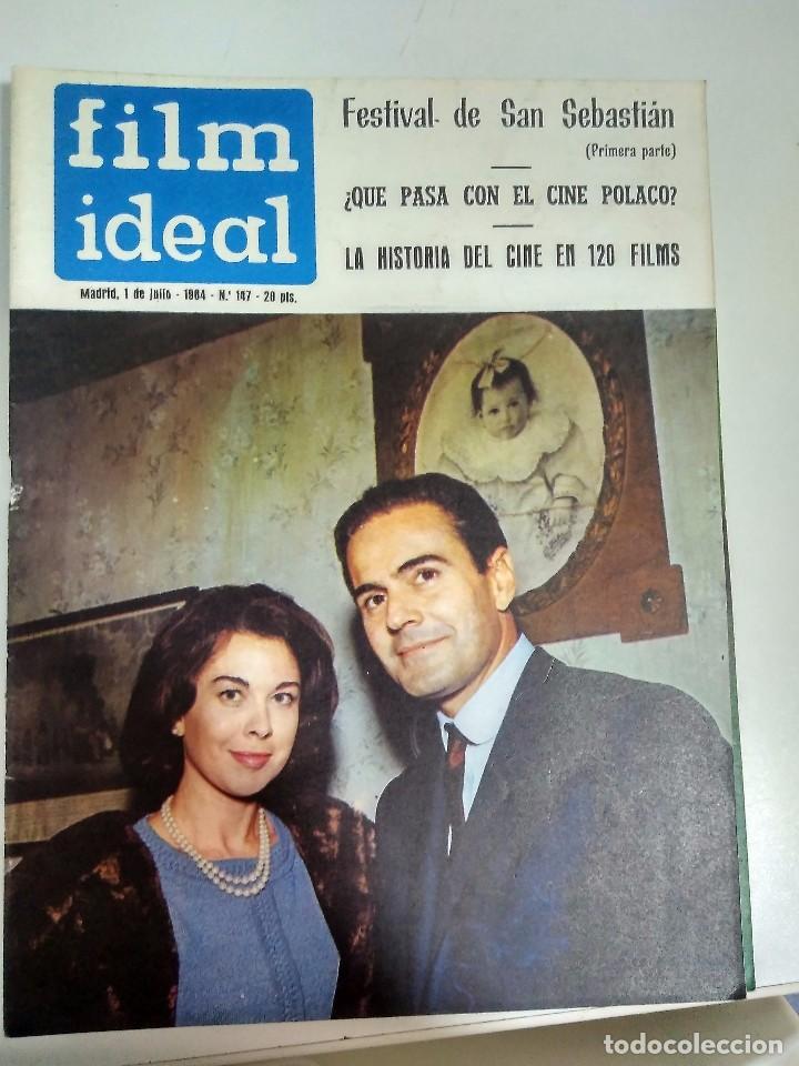 Cine: 24 REVISTAS FILM IDEAL, AÑO 1964 COMPLETO, desde nro. 135 al 158 - Foto 13 - 186134312
