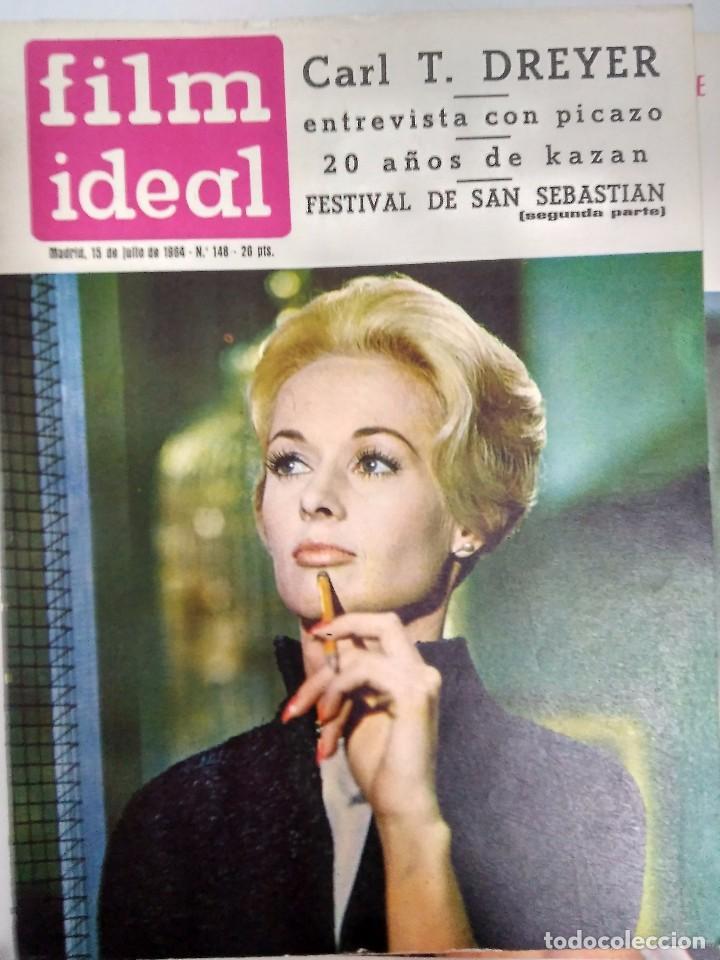 Cine: 24 REVISTAS FILM IDEAL, AÑO 1964 COMPLETO, desde nro. 135 al 158 - Foto 14 - 186134312
