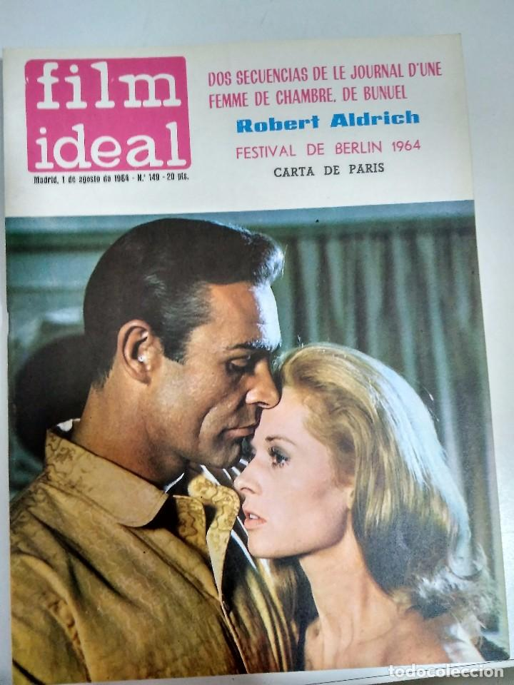 Cine: 24 REVISTAS FILM IDEAL, AÑO 1964 COMPLETO, desde nro. 135 al 158 - Foto 15 - 186134312