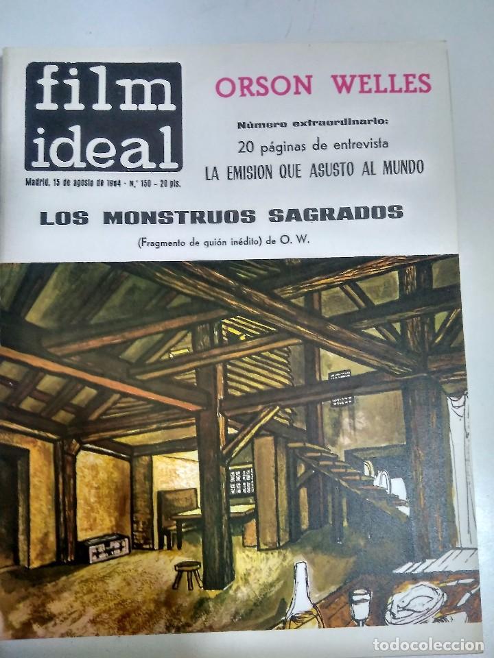 Cine: 24 REVISTAS FILM IDEAL, AÑO 1964 COMPLETO, desde nro. 135 al 158 - Foto 16 - 186134312