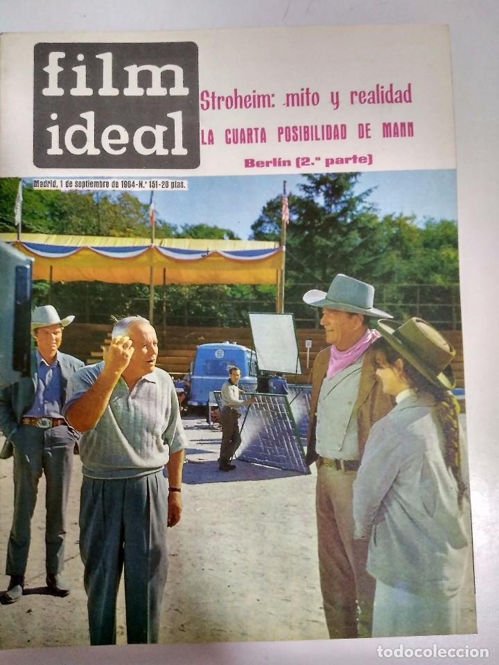 Cine: 24 REVISTAS FILM IDEAL, AÑO 1964 COMPLETO, desde nro. 135 al 158 - Foto 17 - 186134312