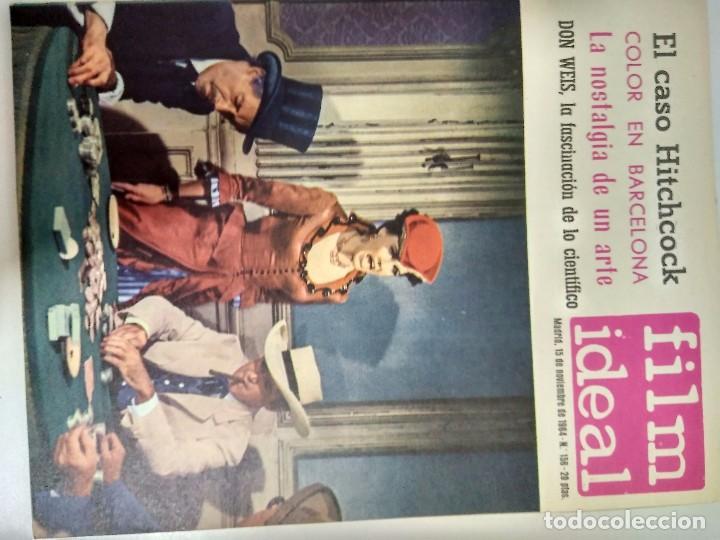Cine: 24 REVISTAS FILM IDEAL, AÑO 1964 COMPLETO, desde nro. 135 al 158 - Foto 22 - 186134312