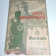 Cine: PUBLICACIÓN ARTE Y CINEMATOGRAFIA, AGOSTO DE 1915, NUM. 115, MUY ILUSTRADA CON TODA LA ACTUALIDAD TE. Lote 97574067