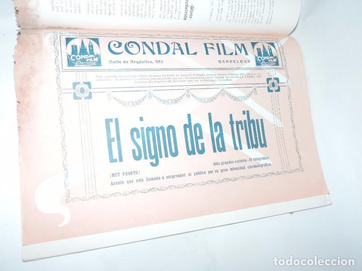 Cine: Publicación ARTE Y CINEMATOGRAFIA, Agosto de 1915, Num. 115, muy ilustrada con toda la actualidad te - Foto 4 - 97574067