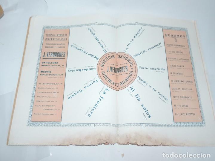 Cine: Publicación ARTE Y CINEMATOGRAFIA, Agosto de 1915, Num. 115, muy ilustrada con toda la actualidad te - Foto 6 - 97574067