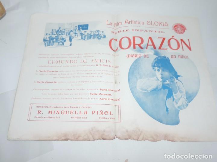 Cine: Publicación ARTE Y CINEMATOGRAFIA, Agosto de 1915, Num. 115, muy ilustrada con toda la actualidad te - Foto 7 - 97574067