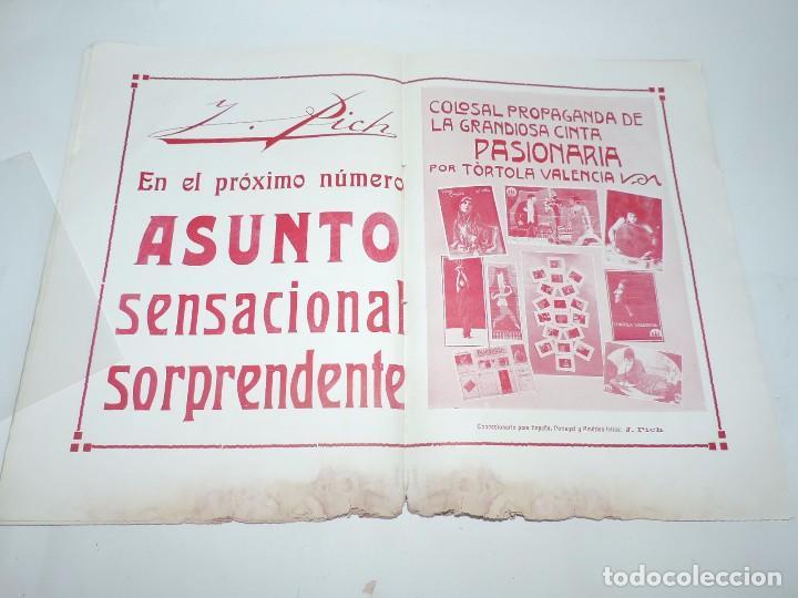 Cine: Publicación ARTE Y CINEMATOGRAFIA, Agosto de 1915, Num. 115, muy ilustrada con toda la actualidad te - Foto 9 - 97574067