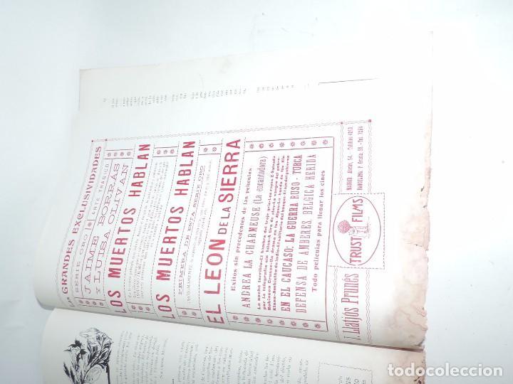 Cine: Publicación ARTE Y CINEMATOGRAFIA, Agosto de 1915, Num. 115, muy ilustrada con toda la actualidad te - Foto 10 - 97574067