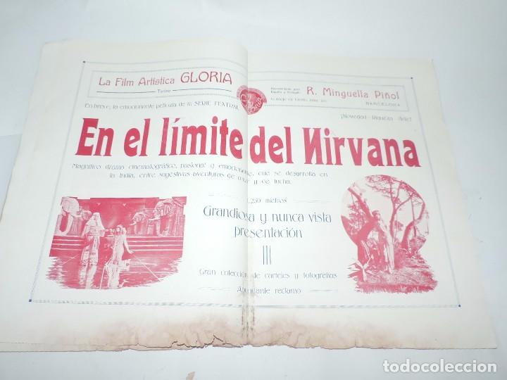 Cine: Publicación ARTE Y CINEMATOGRAFIA, Agosto de 1915, Num. 115, muy ilustrada con toda la actualidad te - Foto 11 - 97574067