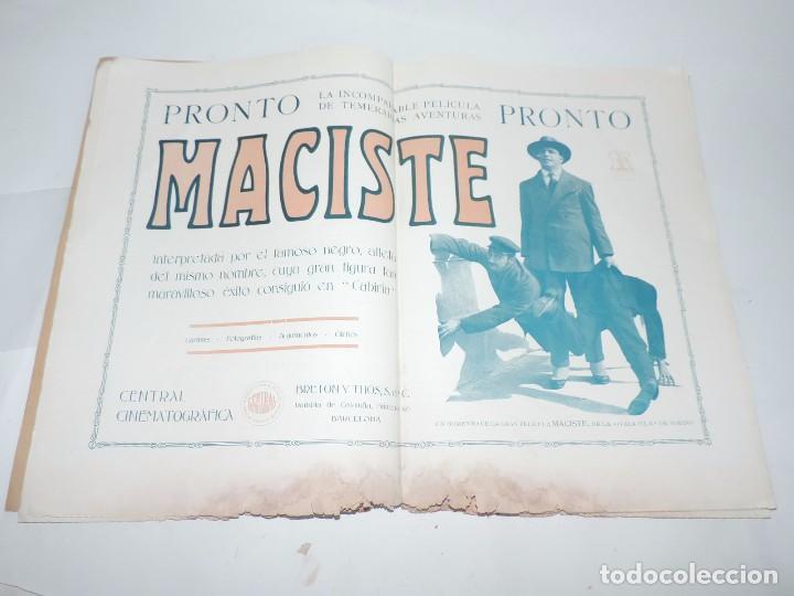 Cine: Publicación ARTE Y CINEMATOGRAFIA, Agosto de 1915, Num. 115, muy ilustrada con toda la actualidad te - Foto 12 - 97574067