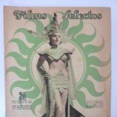 Cine: FILMS SELECTOS. AÑO VII. Nº 277. 1936. . Lote 97735191