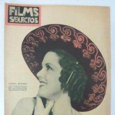 Cine: FILMS SELECTOS. AÑO VII. Nº 296. 1936.. Lote 97735251