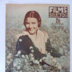 Cine: FILMS SELECTOS. AÑO VII. Nº 282. 1936.. Lote 97735423