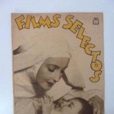 Cine: FILMS SELECTOS. AÑO V. Nº 219. 1934.. Lote 97735483