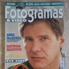 Cine: REVISTA FOTOGRAMAS & VIDEO Nº 1801, OCTUBRE DE 1993. HARRISON FORD. Lote 97869299