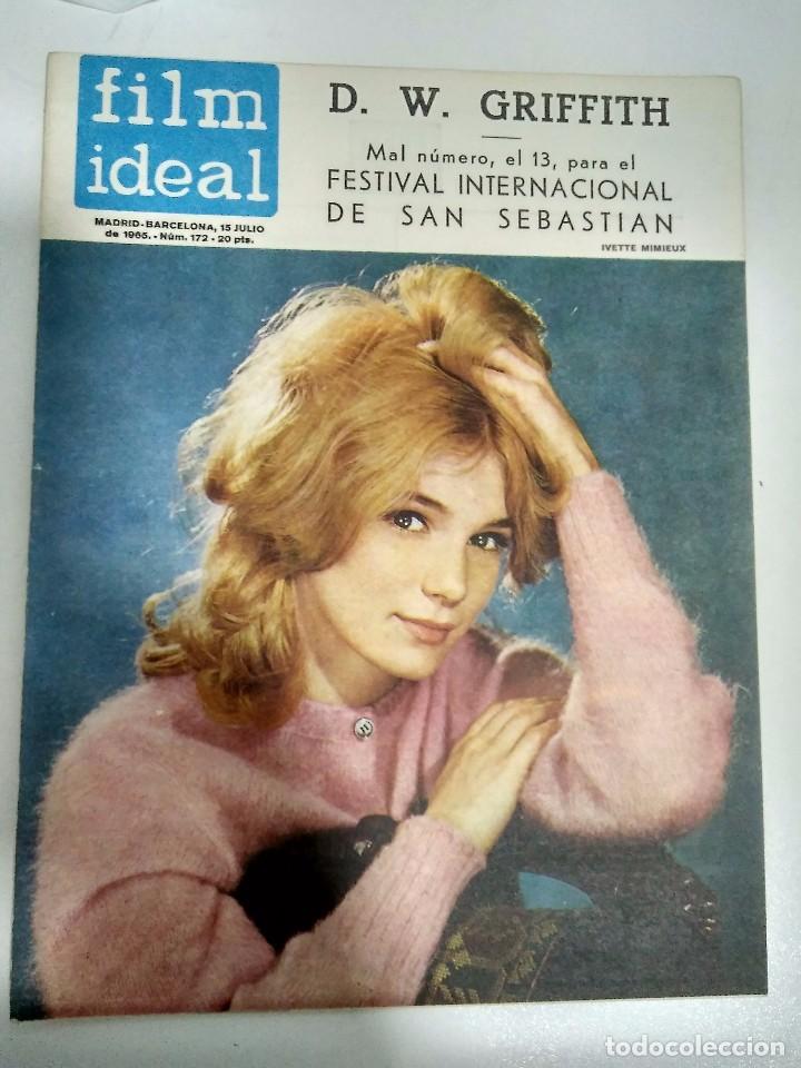 Cine: 23 REVISTAS FILM IDEAL, AÑO 1965 (falta último número) - Foto 14 - 98061883