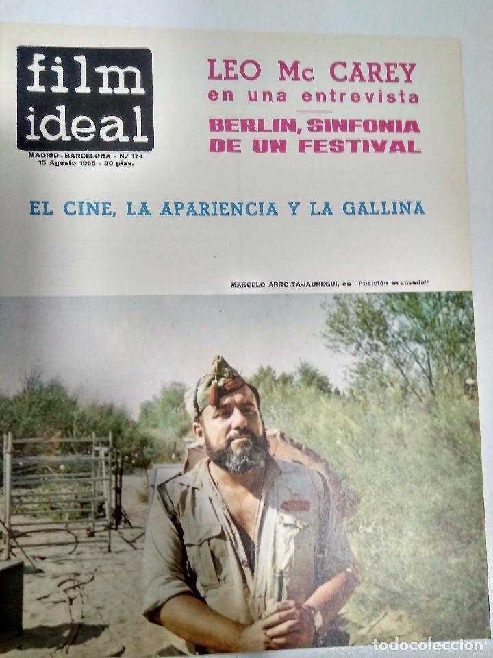 Cine: 23 REVISTAS FILM IDEAL, AÑO 1965 (falta último número) - Foto 16 - 98061883