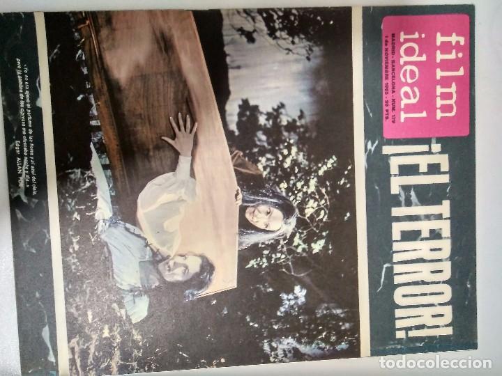 Cine: 23 REVISTAS FILM IDEAL, AÑO 1965 (falta último número) - Foto 21 - 98061883