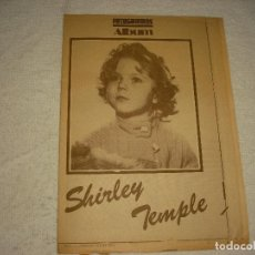 Cine: FOTOGRAMAS , SHIRLEY TEMPLE. Lote 98136955