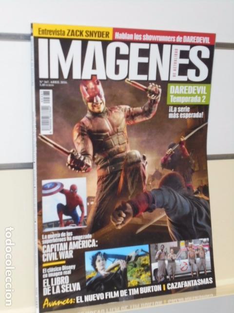 REVISTA IMAGENES DE ACTUALIDAD Nº 367 ABRIL 2016 DAREDEVIL TEMPORADA 2 (Cine - Revistas - Imágenes de la actualidad)