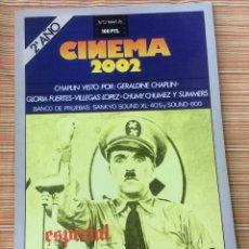 Cine: CINEMA 2002. N -13. MARZO 1976. ESPECIAL CHAPLIN. Lote 98704719