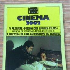 Cine: CINEMA 2002. N-8. OCTUBRE 1975. . Lote 98705539