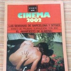 Cine: CINEMA 2002. N- 10. DICIEMBRE 1975. BARCELONA Y SITGES. Lote 98705775