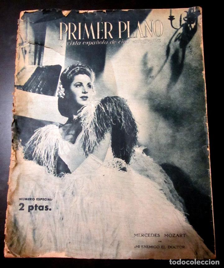 REVISTA PRIMER PLANO NUMERO ESPECIAL MADRID 1945 NUMERO 221 (Cine - Revistas - Primer plano)