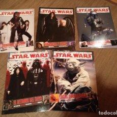 Cine: STAR WARS 5 SUPLEMENTOS COLECCIONABLES DE CINEMANIA AÑO 2005. Lote 98876763