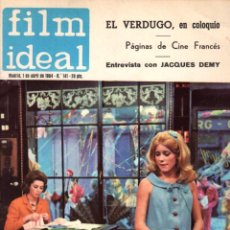 Cinema: REVISTA FILM IDEAL. Nº 141. 1 DE ABRIL DE 1964. Lote 98935963