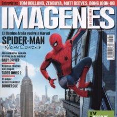 Cine: IMAGENES DE ACTUALIDAD N. 381 JULIO/AGOSTO 2017 - EN PORTADA: SPIDER-MAN HOMECOMING (NUEVA). Lote 217779268