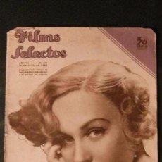 Cine: FILMS SELECTOS Nº 300-1936-MADGE EVANS-ROBERT TAYLOR-CAROLE LOMBARD-LUCILLE BALL-CATALINA BARCENA. Lote 99266231