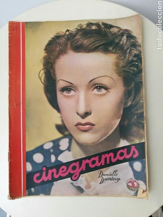 REVISTA CINEGRAMAS ENERO 1936 (Cine - Revistas - Cinegramas)