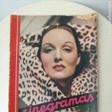 Cine: REVISTA CINEGRAMAS ENERO 1936.. Lote 99541962