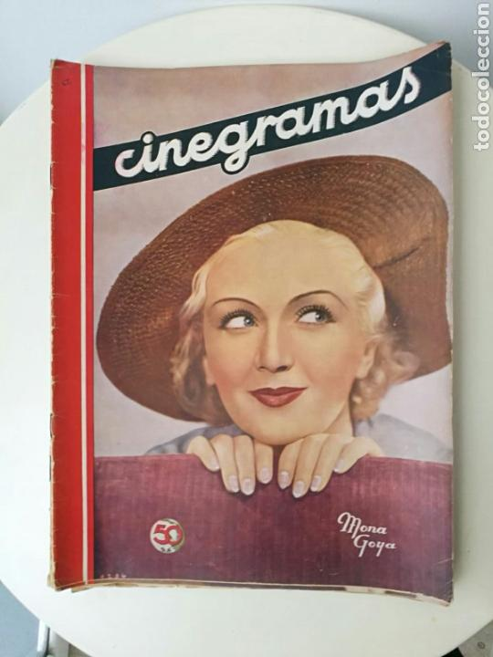REVISTA CINEGRAMAS DICIEMBRE 1935 (Cine - Revistas - Cinegramas)